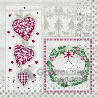 33er Tissue-Serviette, BENITA, 100 Stück